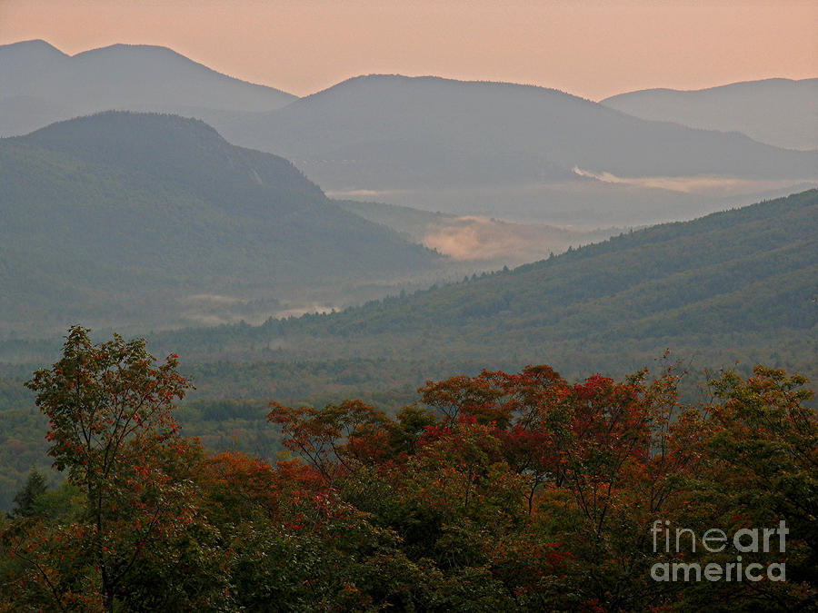 Dawn In The White Mountains Photograph