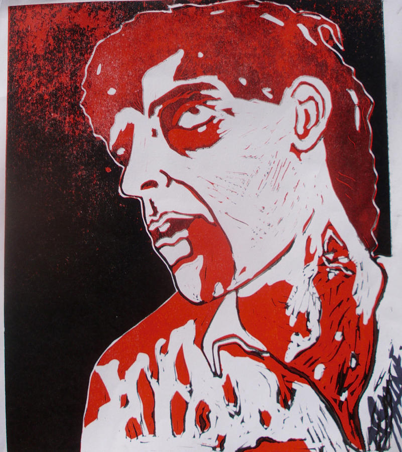 Dawn Of The Dead Print 1 Painting  - Dawn Of The Dead Print 1 Fine Art Print