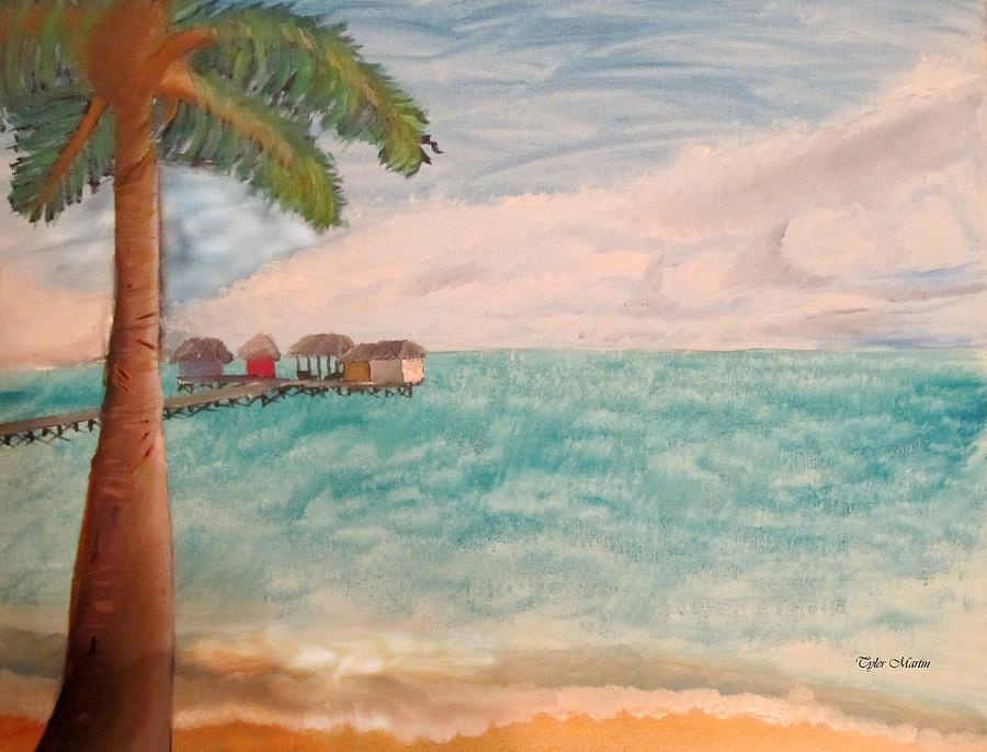 Day In The Tropics Painting