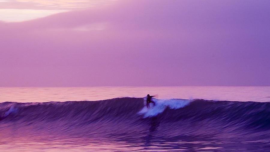 Daybreak At Rincon Photograph - Daybreak At Rincon by Ron Regalado