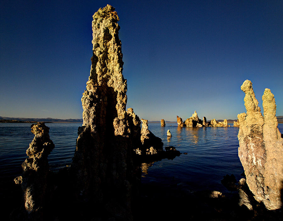 Daybreak On Mono Lake Photograph