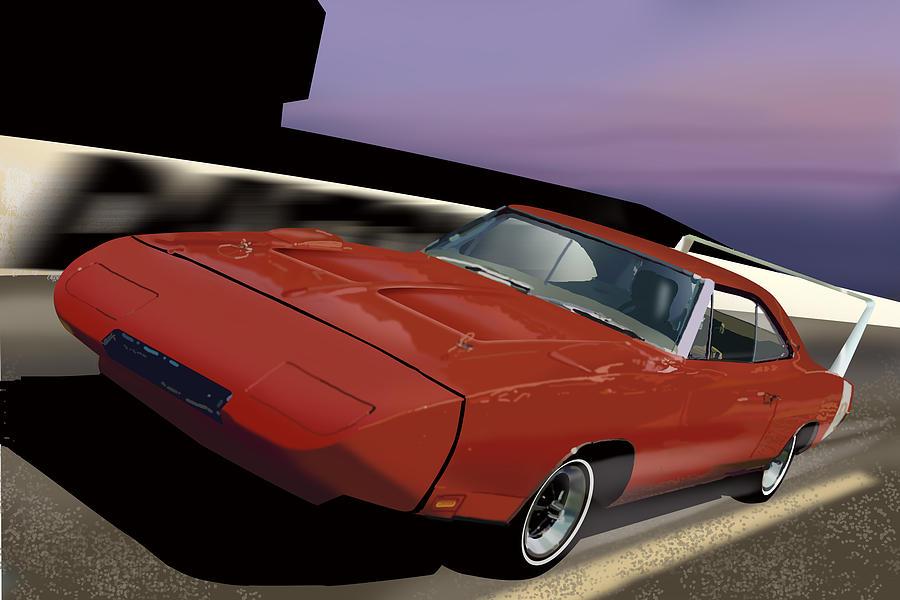 Daytona Nights Digital Art