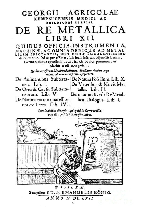 De Re Metallica, Title Page, 16th Photograph