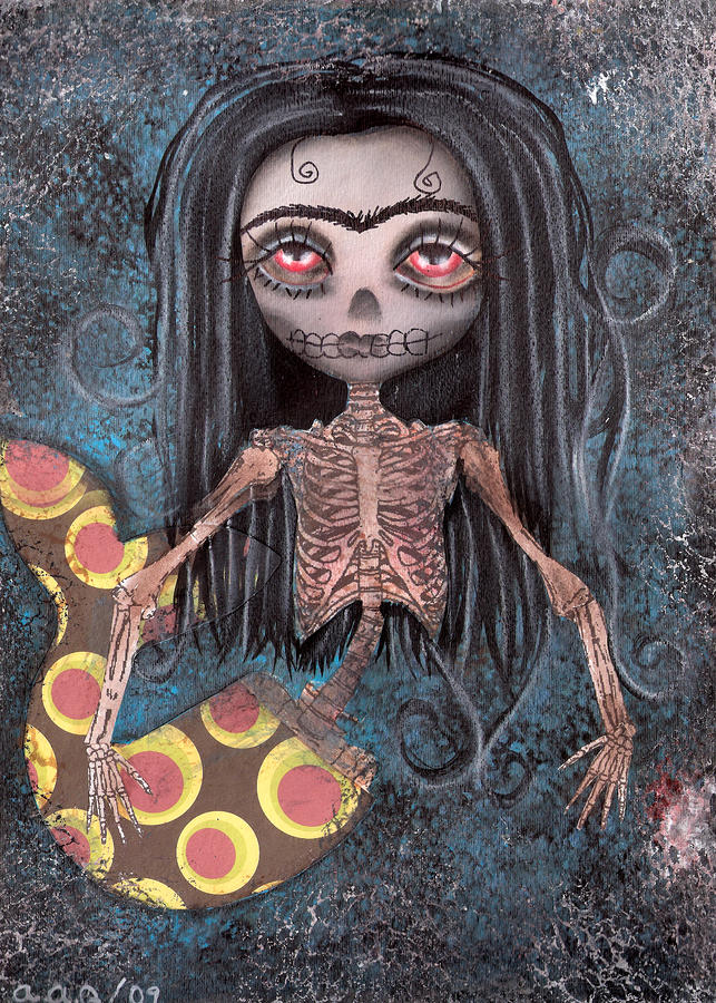 Dead In The Flesh Painting  - Dead In The Flesh Fine Art Print
