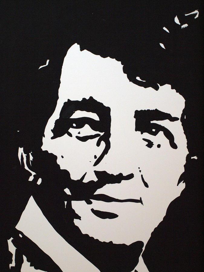 dean martin stencil -#main