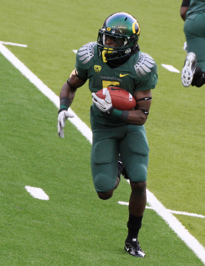Deanthony Thomas Oregon Ducks Photograph  - Deanthony Thomas Oregon Ducks Fine Art Print