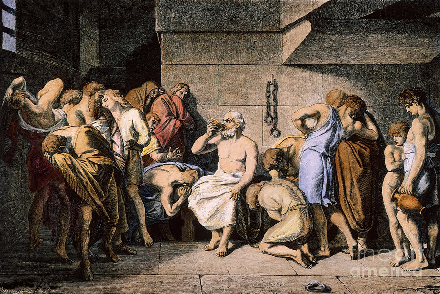 Death Of Socrates Photograph