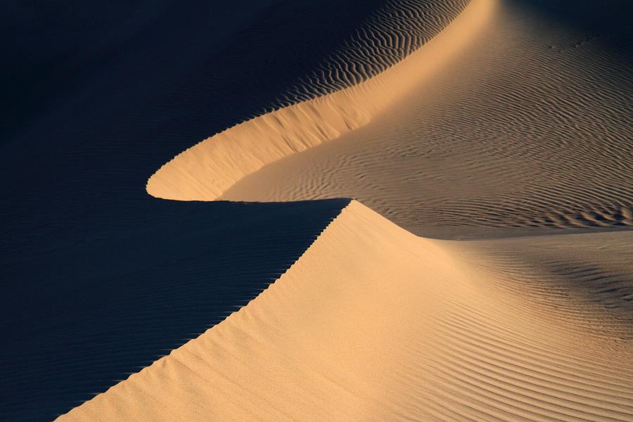 Death Valley Sand Design Photograph  - Death Valley Sand Design Fine Art Print