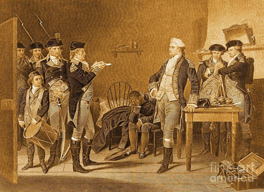 Death Warrant Of Major John Andre, 1780 Photograph