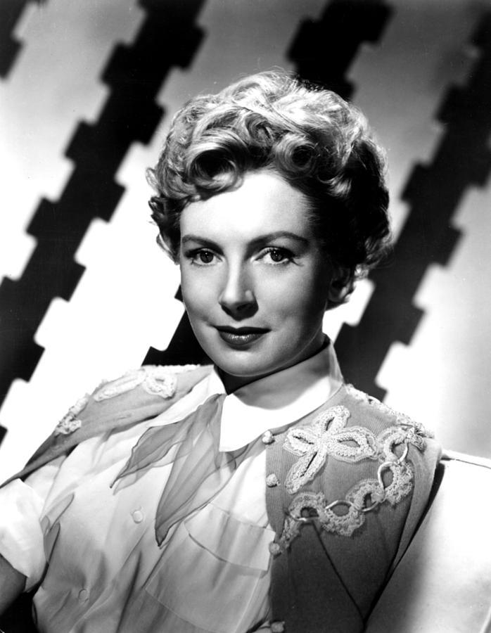 Deborah Kerr, Portrait, Ca. 1950s Photograph