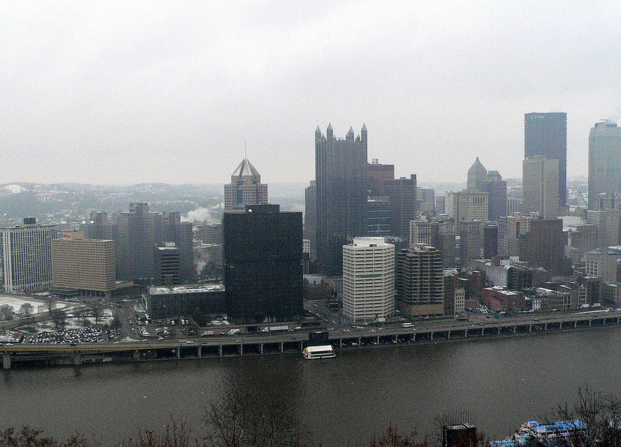December Pittsburgh Photograph