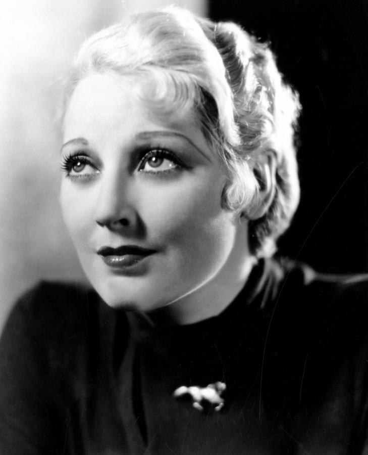 Deception, Thelma Todd, 1932 Photograph  - Deception, Thelma Todd, 1932 Fine Art Print