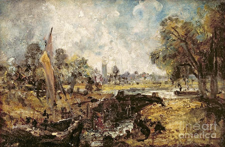 Dedham Lock Painting