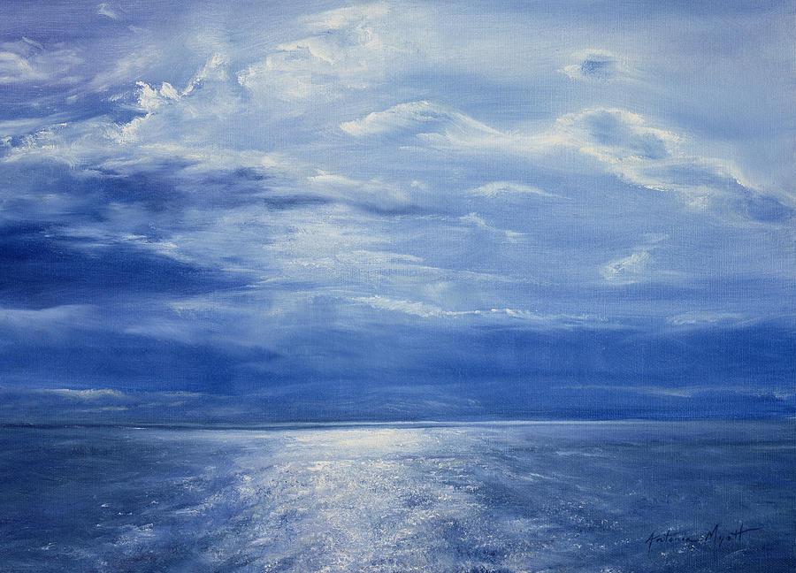 Deep Blue Sea Painting
