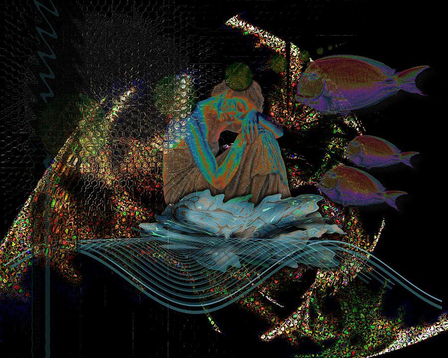 Deep Contemplation - Innere Einkehr Digital Art