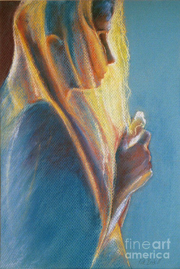 Deep In Thought Pastel