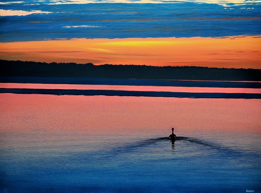 Deepest Sunset Painting