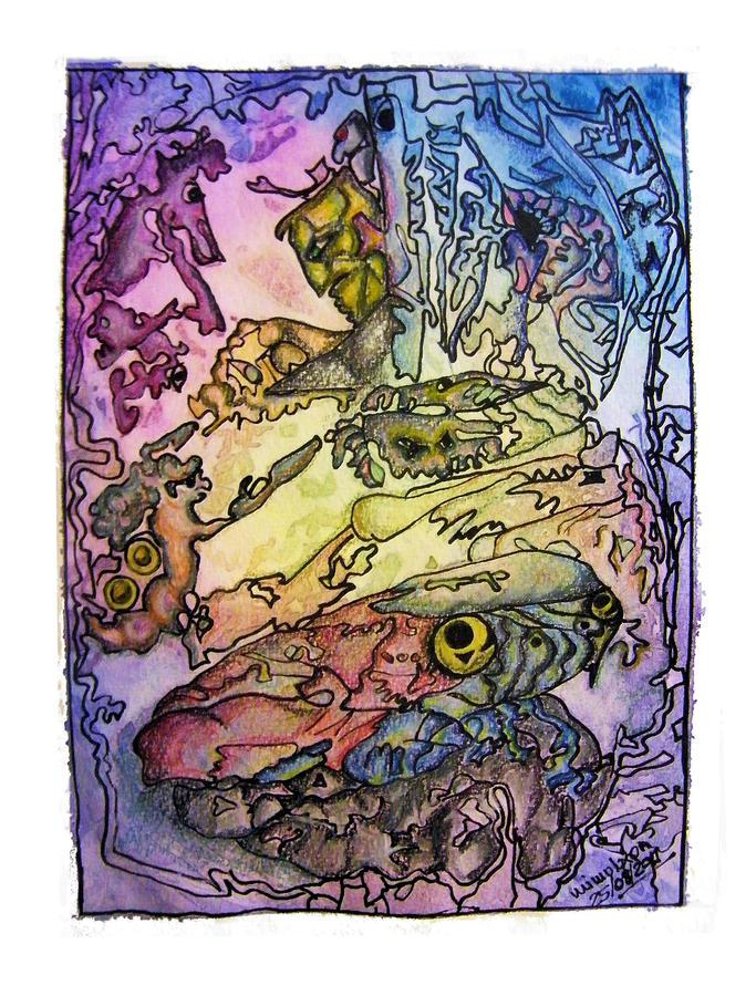 Deepsea Kritters Painting