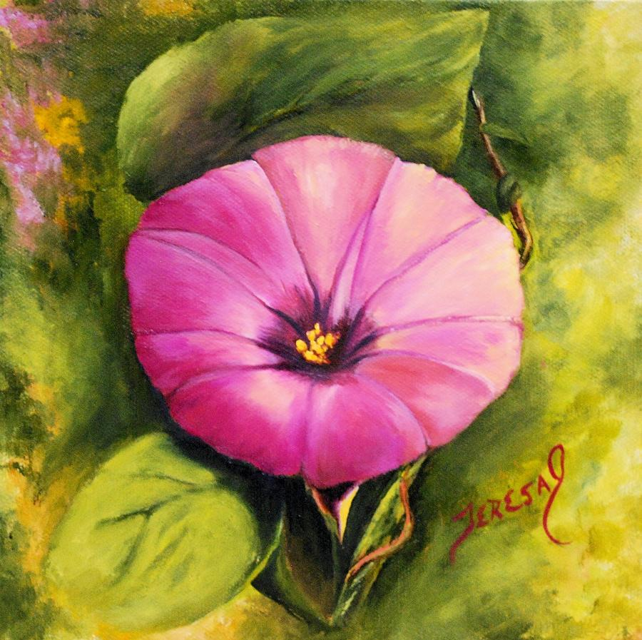 Dees Morning Glory Painting
