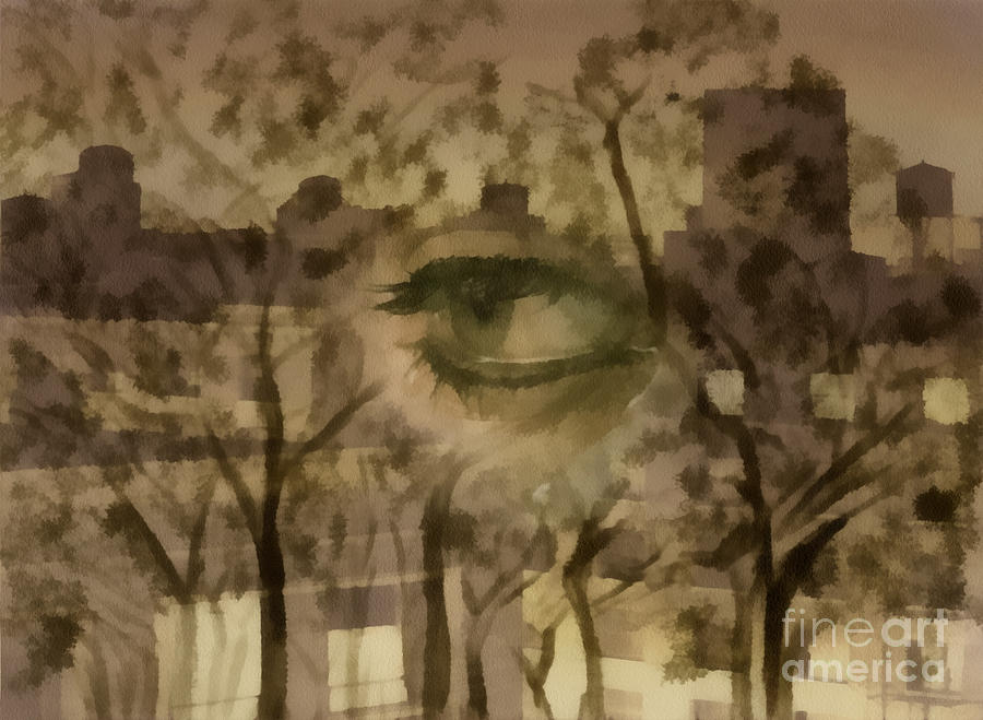 Deforestation Digital Art