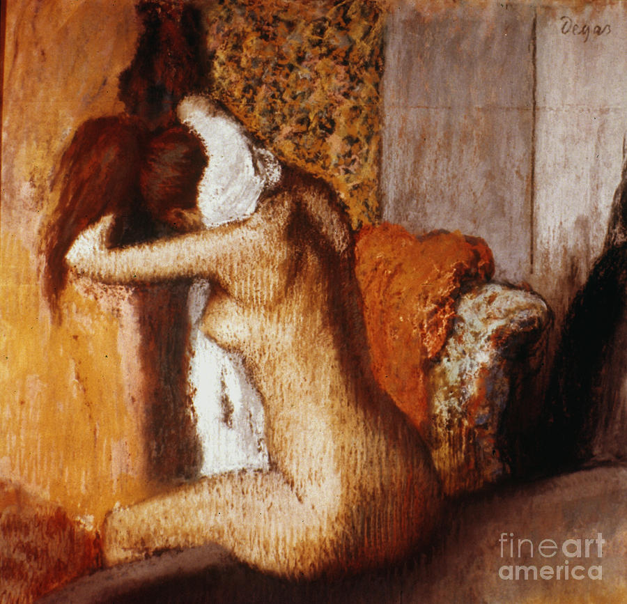 Degas: After The Bath Photograph