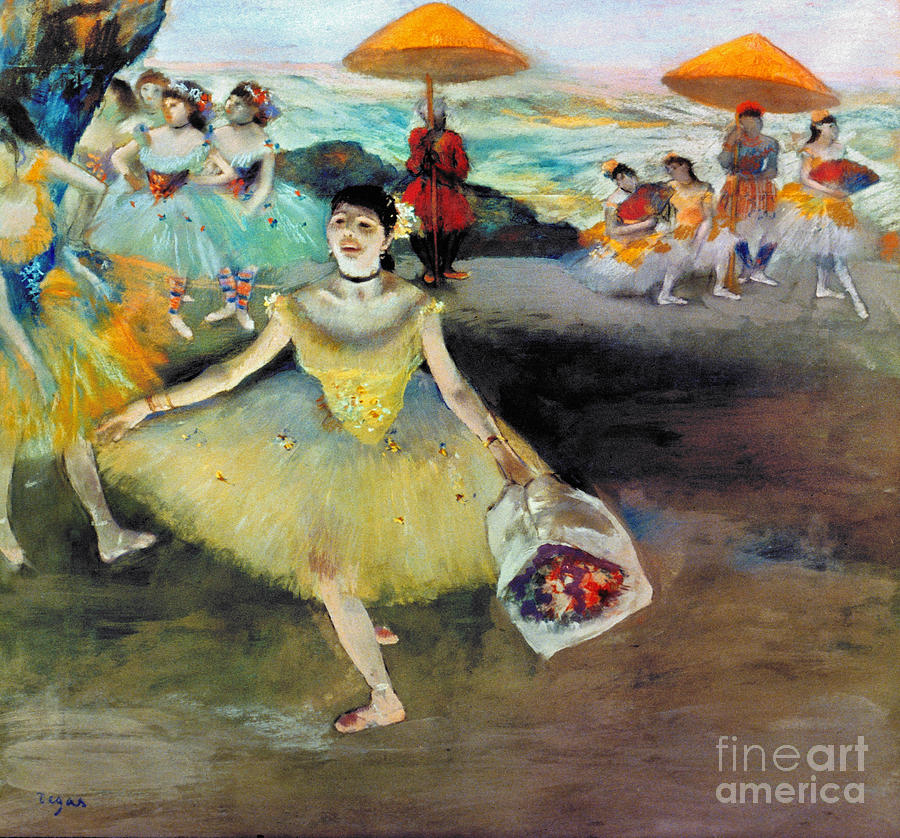 Degas: Dancer, 1878 Photograph