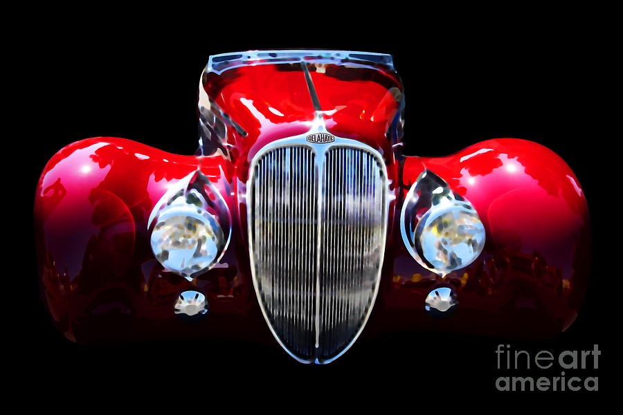 Delahaye Reinterpreted Digital Art