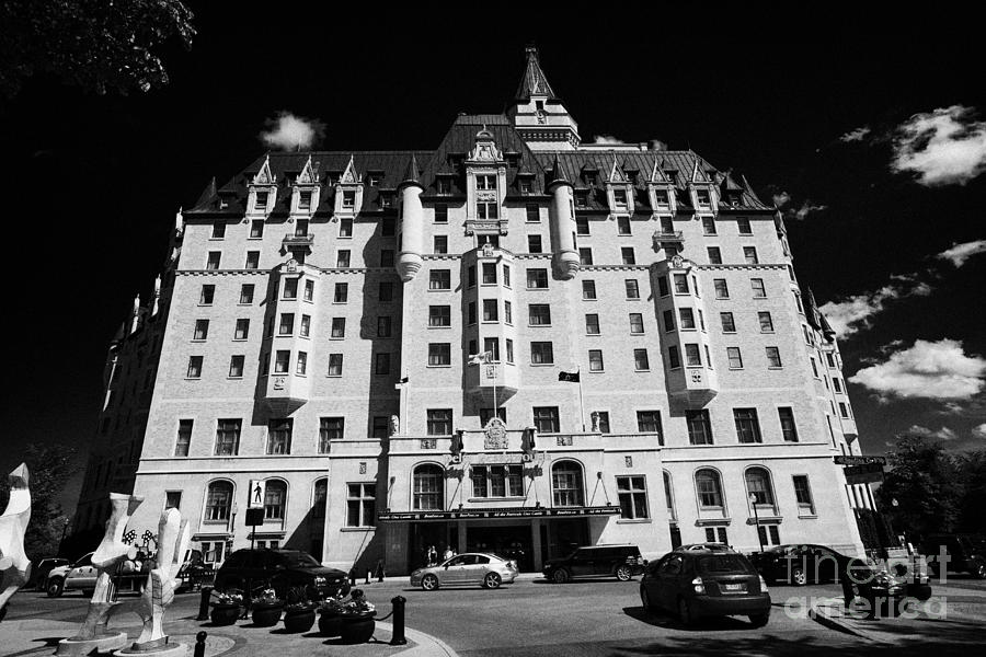 delta bessborough hotel downtown Saskatoon Saskatchewan Canada Photograph  - delta bessborough hotel downtown Saskatoon Saskatchewan Canada Fine Art Print