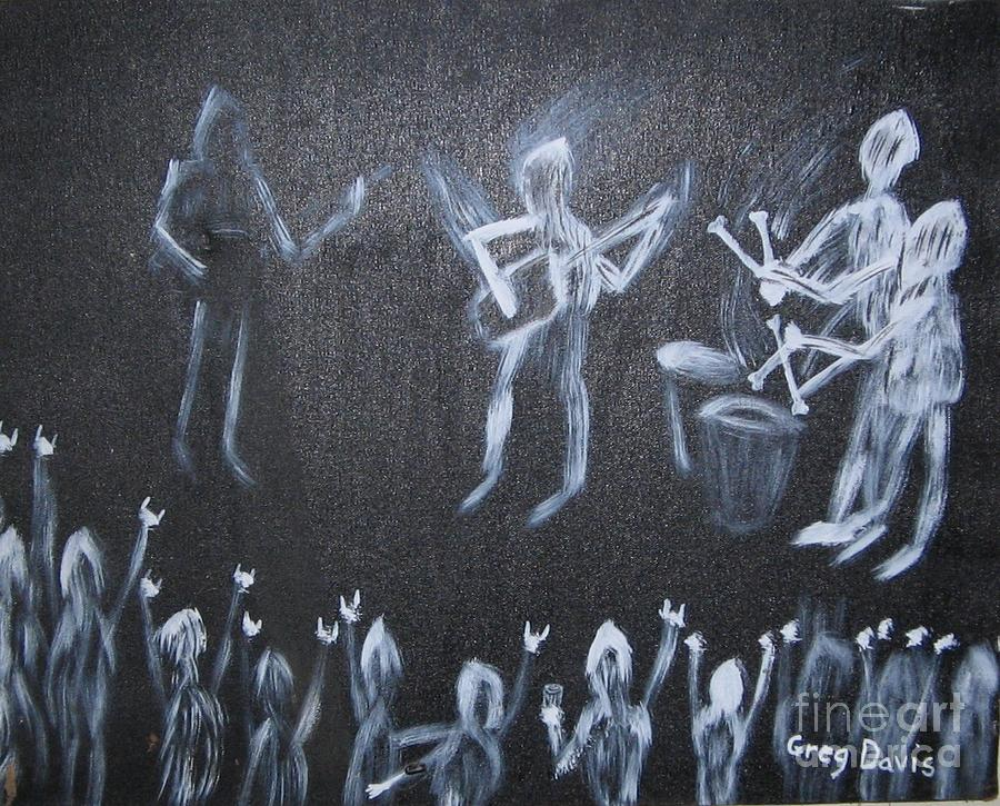 Demon Band Painting
