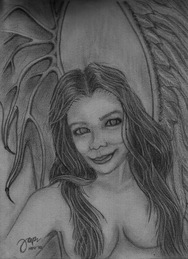Angel Demon Drawings