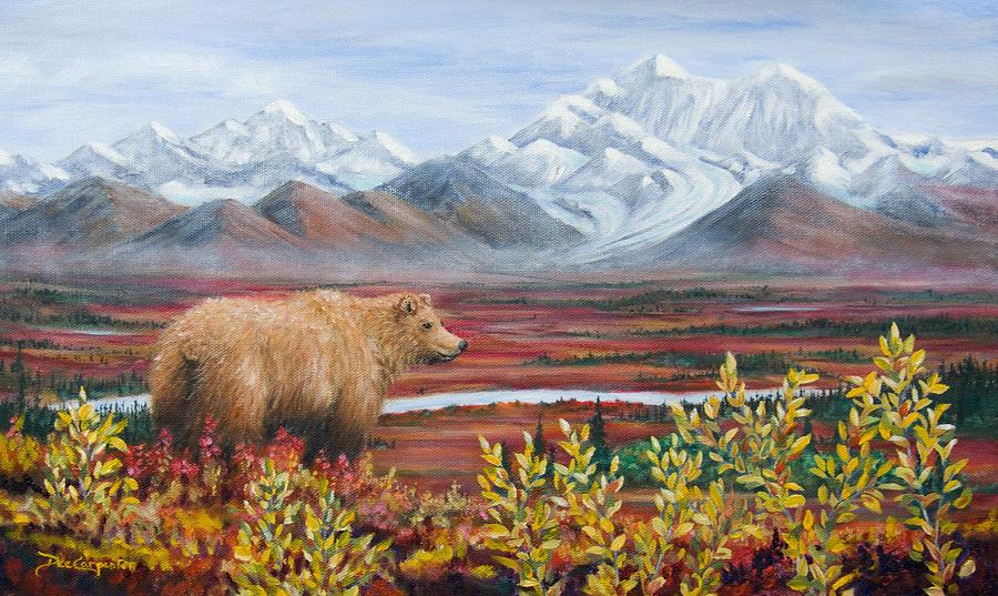 Denali Highway Visitor Painting