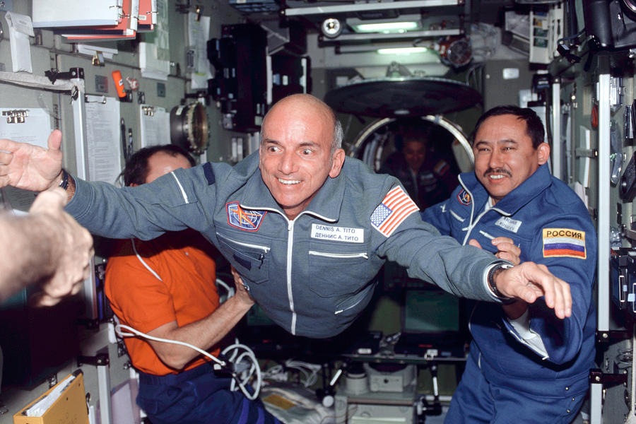 Dennis Tito, First Space Tourist Photograph