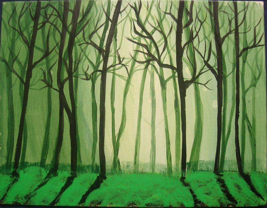 Dense Painting - Dense Nsleepy by Sonali Singh