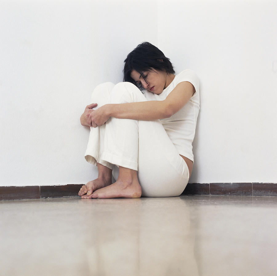 Depressed Woman Photograph