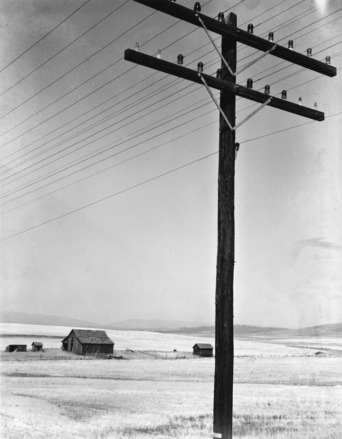 Depression Era Rural America Photograph