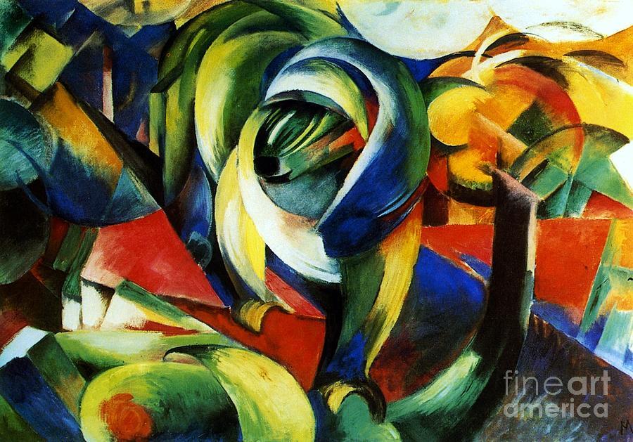 Der Mandrill Painting