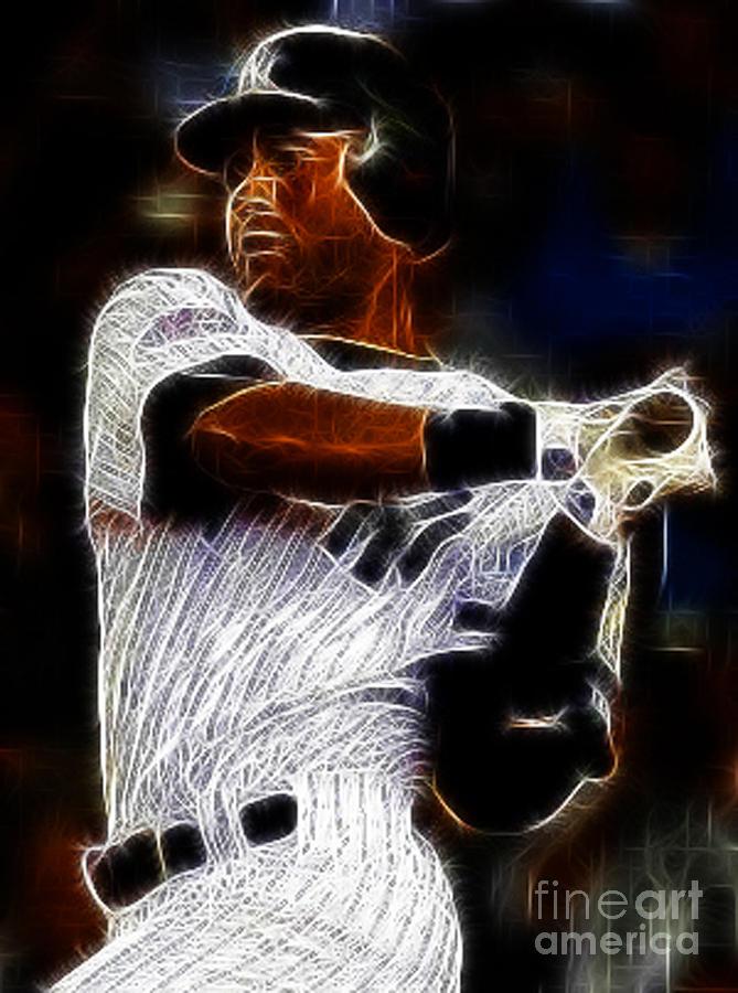 Derek Jeter New York Yankee Photograph