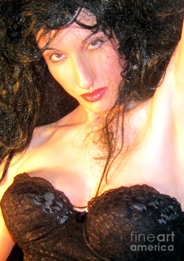 Desdemona - Fierce - Self Portrait Photograph