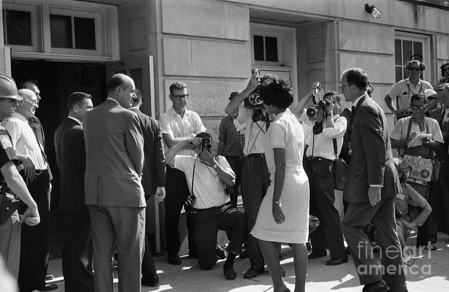 Desegregation, 1963 Photograph
