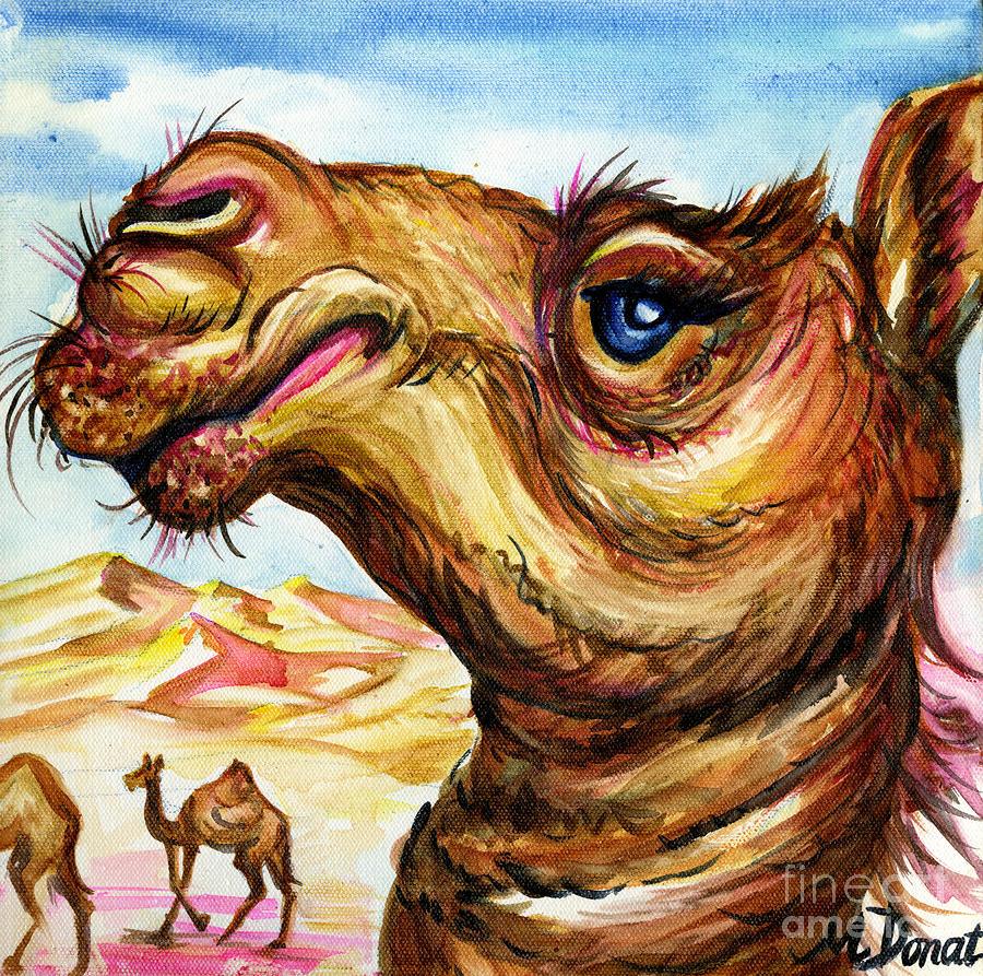 Desert Aristocrat Painting