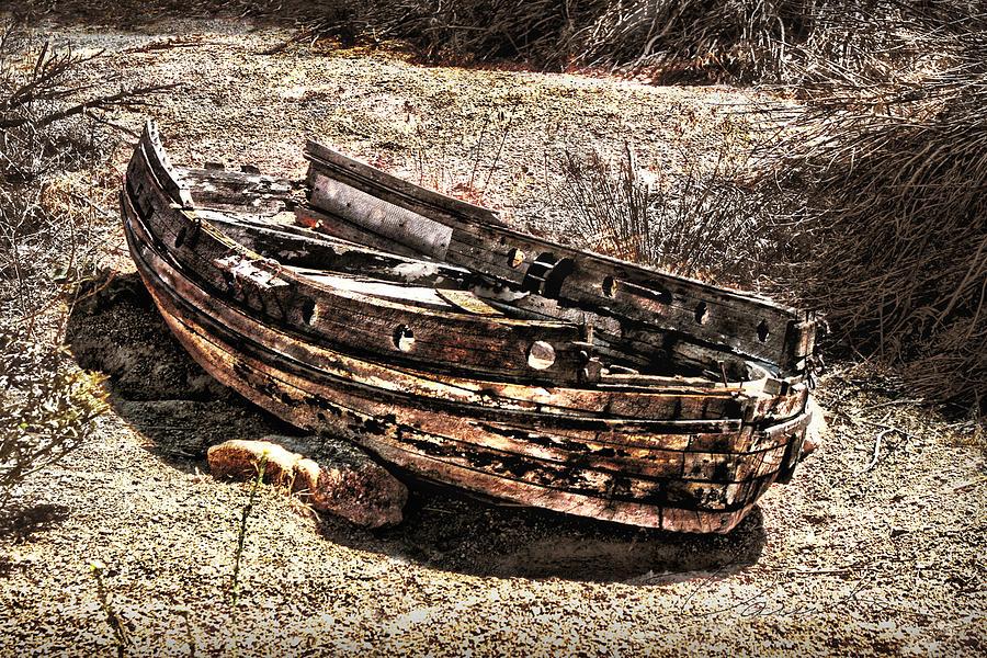 Desert Boat Photograph