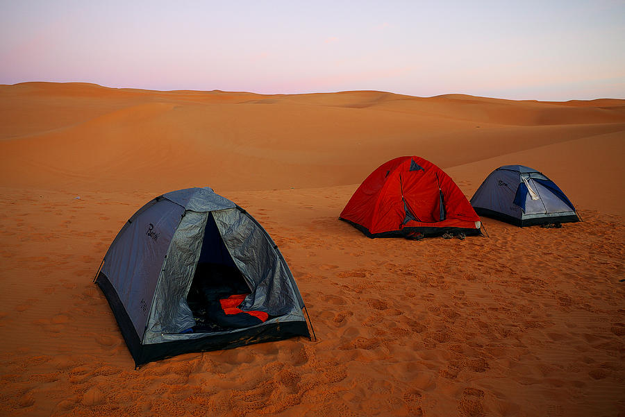 Desert Camping is a photograph by Ivan Slosar which was uploaded on ...