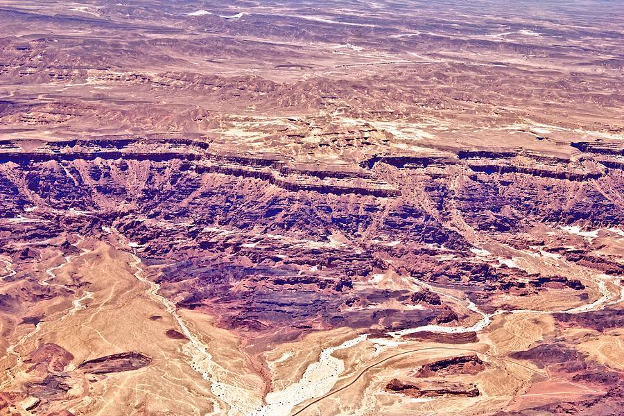 Desert Crater Photograph