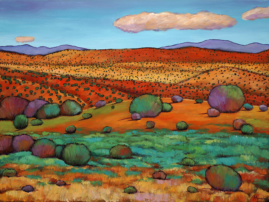 Desert Day Painting  - Desert Day Fine Art Print