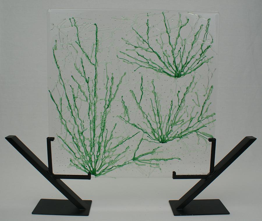 Desert Grass Glass Art