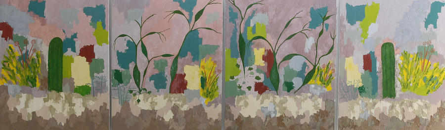 Abstract Painting - Desert Pastoral by Frederick Fulmer