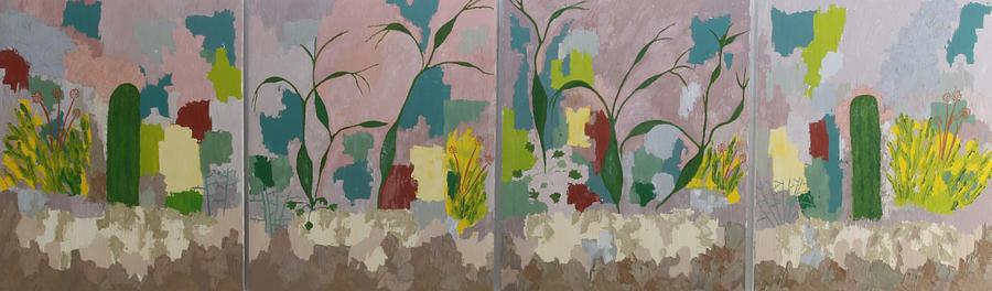 Desert Pastoral Painting