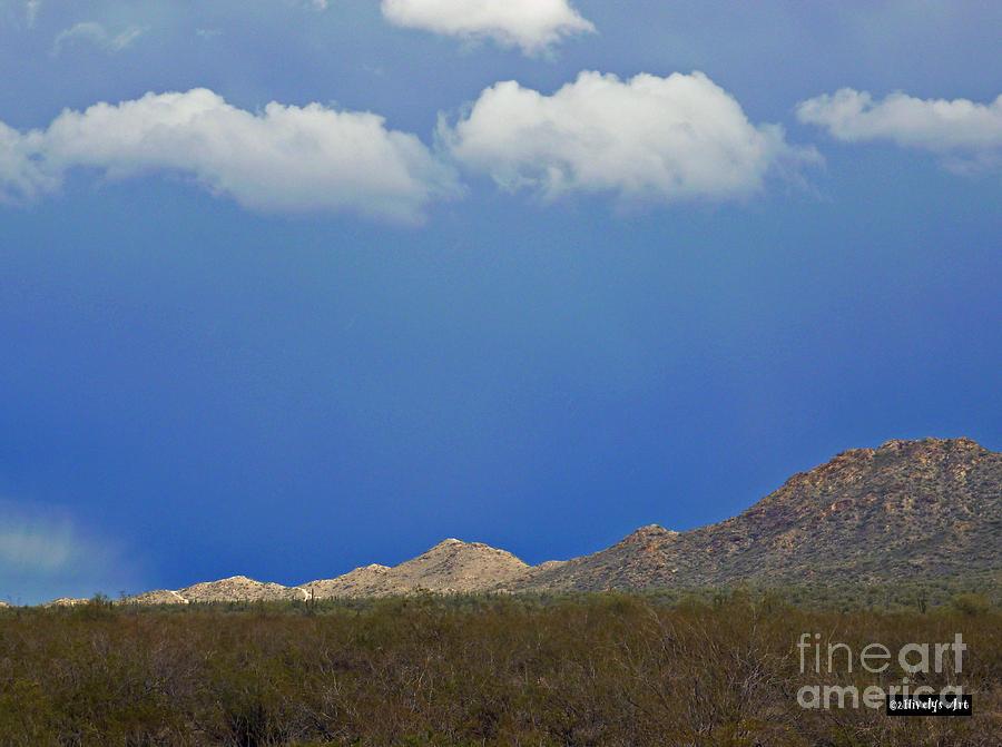 Desert Rain Photograph