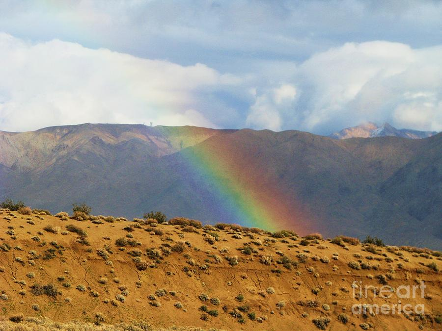 Desert Rainbow Photograph