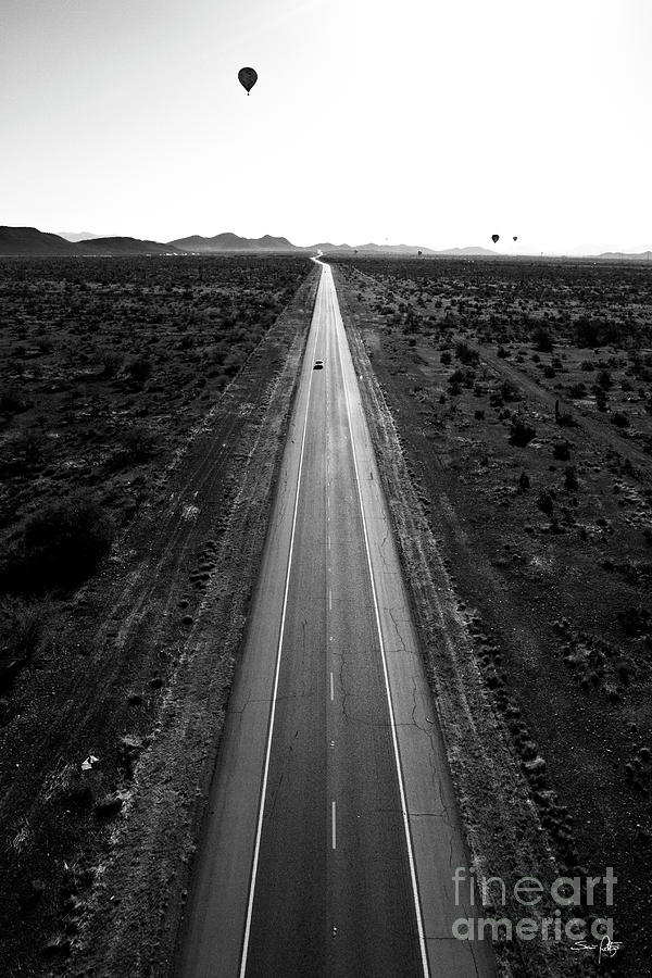 Desert Road Photograph  - Desert Road Fine Art Print